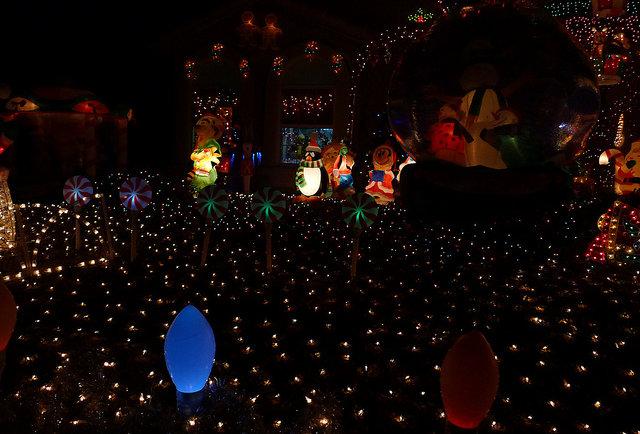 Best Christmas Lights Streets