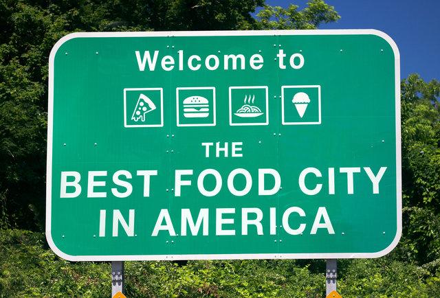Best Us Cities For Food Best Food Cities In America