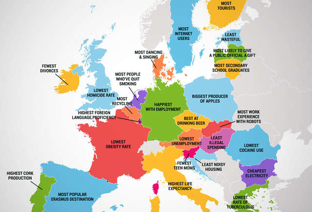 Share on facebook pin it for Best countries to travel in europe