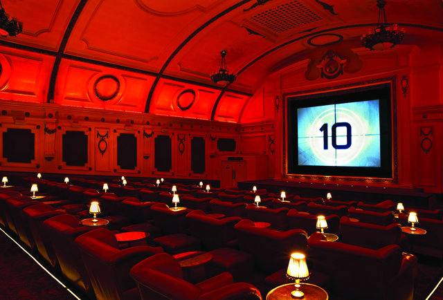 Movie theatures in st