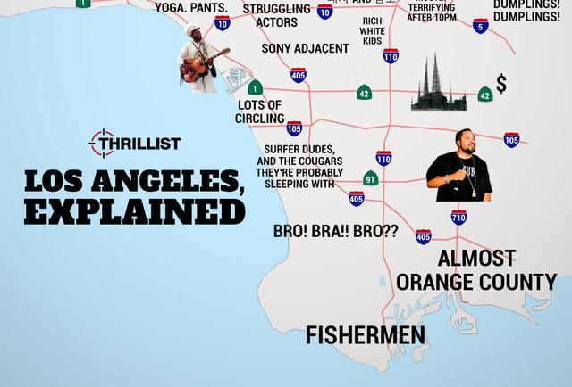 Judgmental Map Of LA