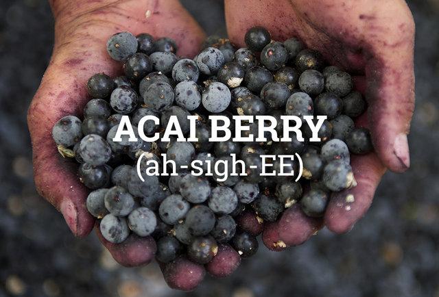 Acai Berry Dictionary Pronunciation