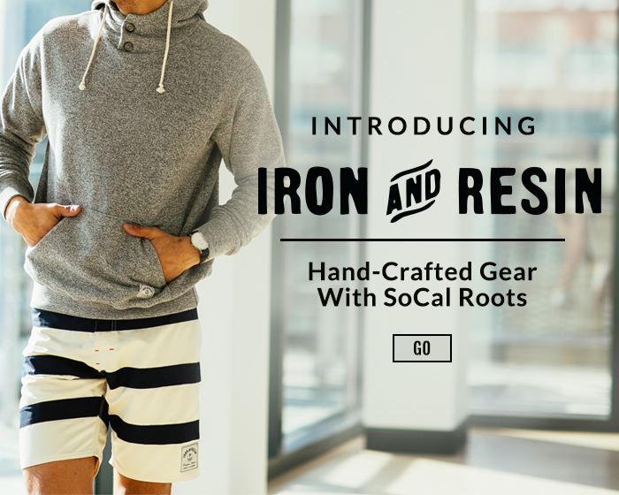 Introducing Iron and Resin.