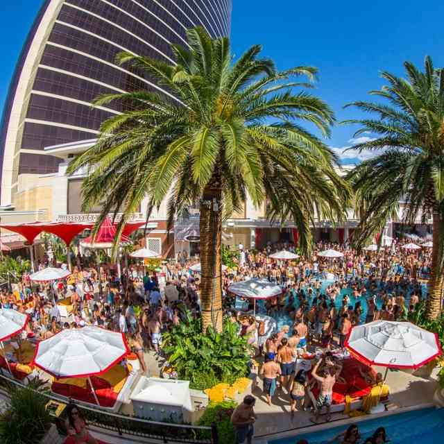 vegas pool parties today