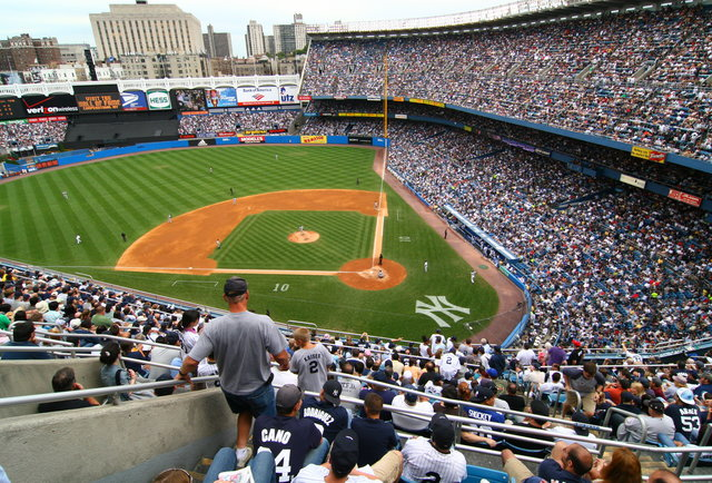 Old Major League Baseball Stadiums 66