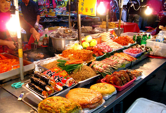 Chow down at the opening night of the new queens night market for Outdoor food market