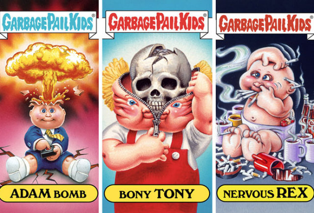 iPhone Garbage Pail Kids