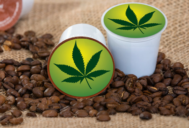weed coffee pods for sale