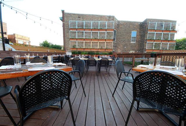 Outdoor Patio Restaurants Chicago Il   Best Outdoor Restaurants Rooftops  And Bars In Chicago
