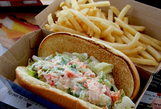 Would You Eat an $8 McLobster Roll at McDonald's?