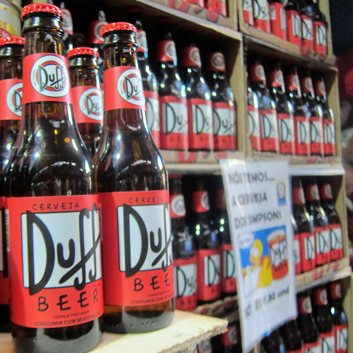Duff Beer From 'the Simpsons'