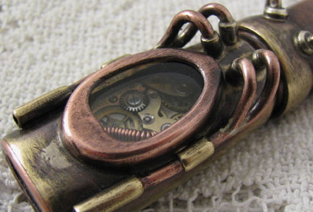 Steampunk Flash Drives