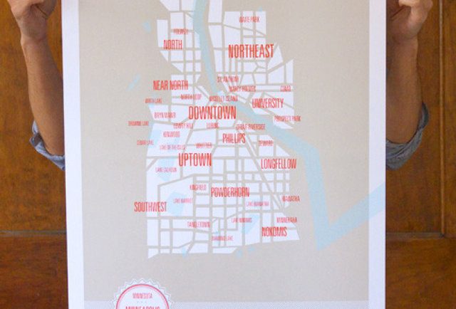 Minneapolis Neighborhoods Map