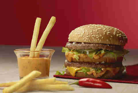 McDonald's testing Sriracha Big Mac