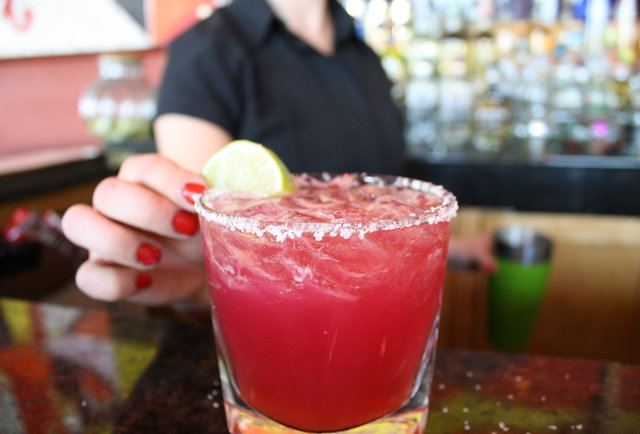 The Prickly Pear Margarita at Tamayo