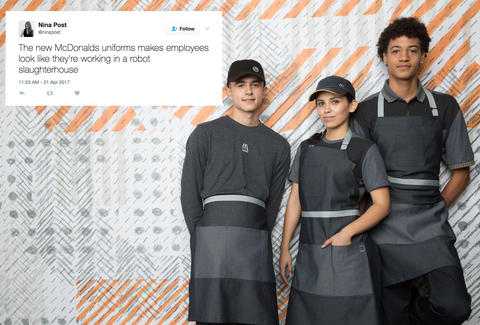 New McDonald's Uniforms Make Staff Look Like Star Wars Villains