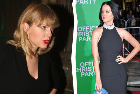 Taylor Swift returns to Spotify the day of Katy Perry's
