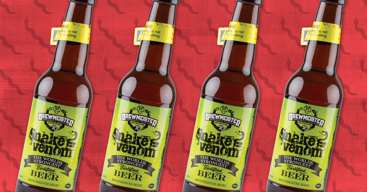 Snake Venom Is Officially The World's Strongest Beer