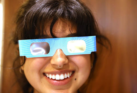 Don't throw your eclipse glasses away - do this instead