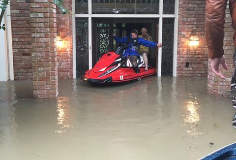 Chick-Fil-A Rescues Elderly Couple Trapped In Their Houston Home