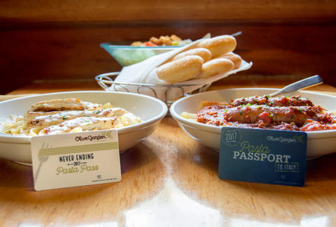 Olive Garden's $100 Pasta Pass to go on sale Thursday