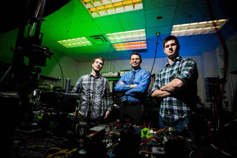 Hologram-Like Images Come Alive With Tiny Particles, Lasers