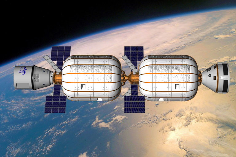 Inflatable Space Stations of Bigelow Aerospace