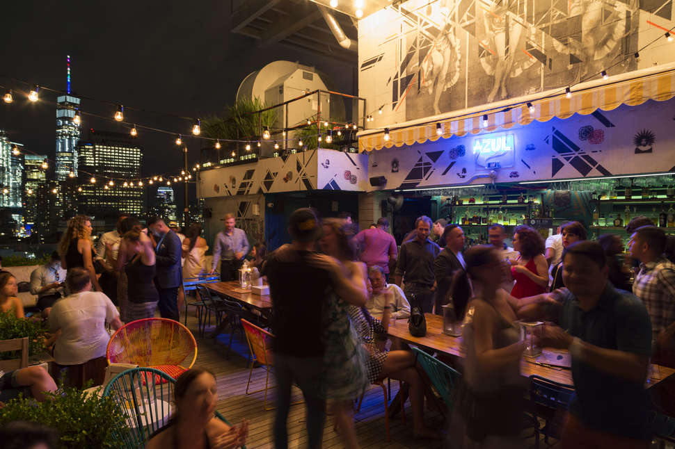 Best Rooftop Bars In Nyc Outdoor Drinking Spots With A