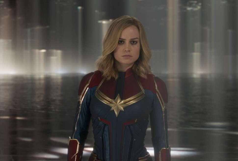 Brie Larson surprises fans at 'Captain Marvel' screenings