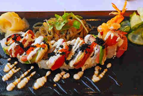 Dragon Roll chez California Grill
