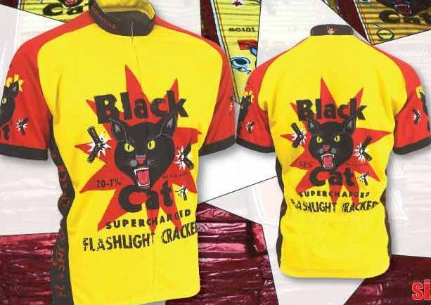 Retro's Black Cat Cycling Jersey
