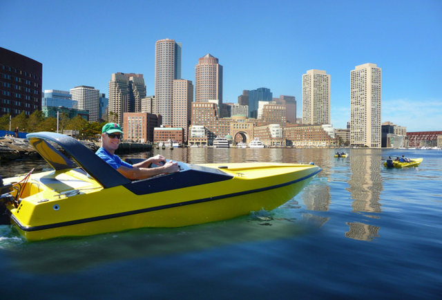 Boston Harbor Mini Speed Boats
