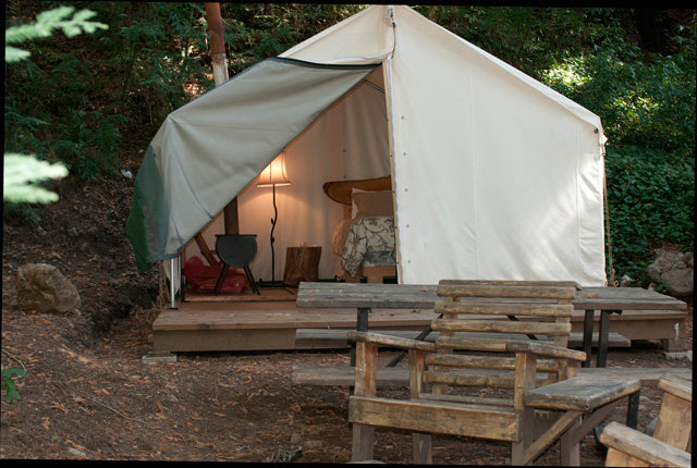 Fernwood Resort's Adventure Tent
