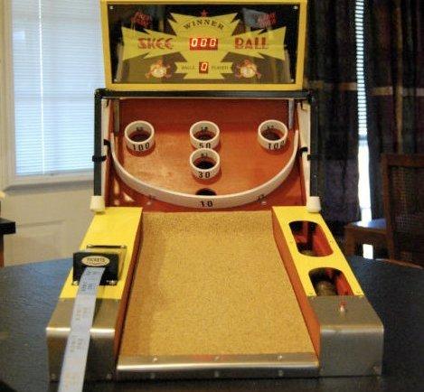 mini skee machine