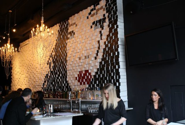 A downtown lounge where East meets Southwest