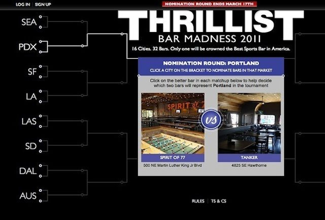 Thrillist's Bar Madness
