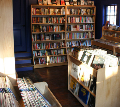 Indie book/music shop morphs into Spanish tapas bar