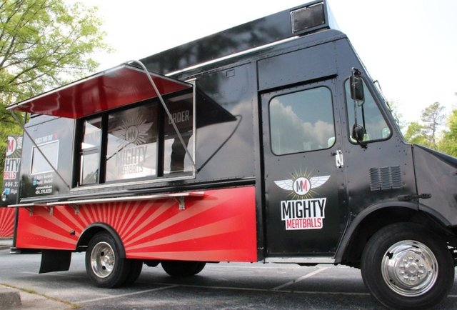 Family-run food truck proves great-grandma had balls