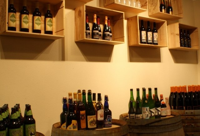 A bottle shop where beer and wine get along just fine