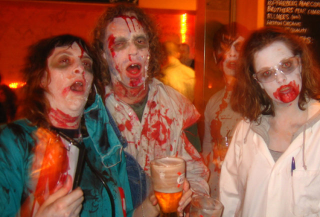Brews & Brains Zombie Bar Crawl