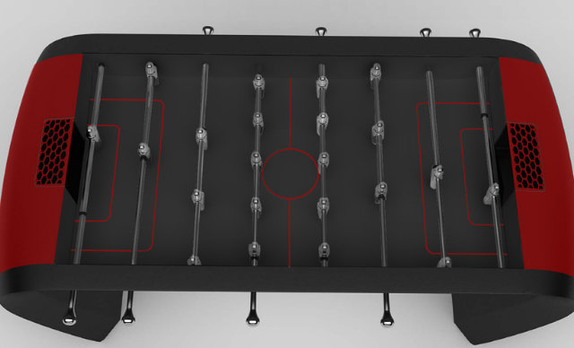 The Blackball Foosball Table