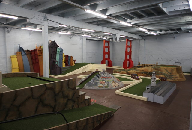 The coolest miniature course maybe ever