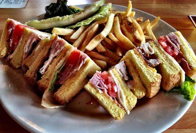36) The Club Sandwich