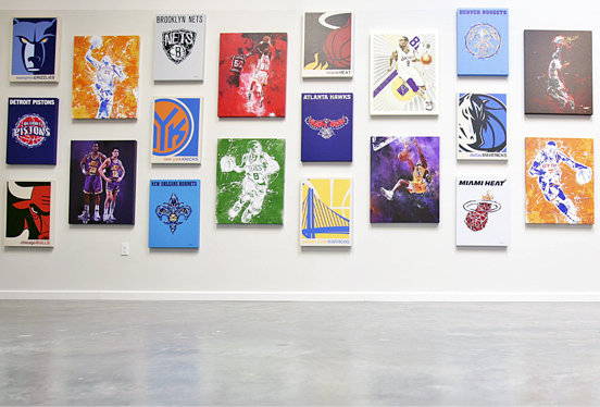 The NBA as art