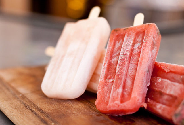 Alcoholic Popsicles at Potenza