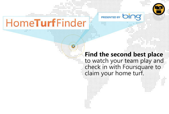 The Bing Home Turf Finder