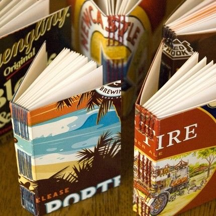 RePaper Beer Box Books