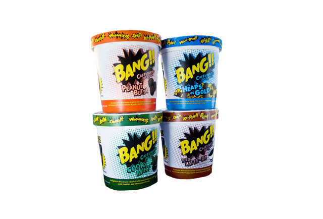 Bang! Caffeinated Ice Cream