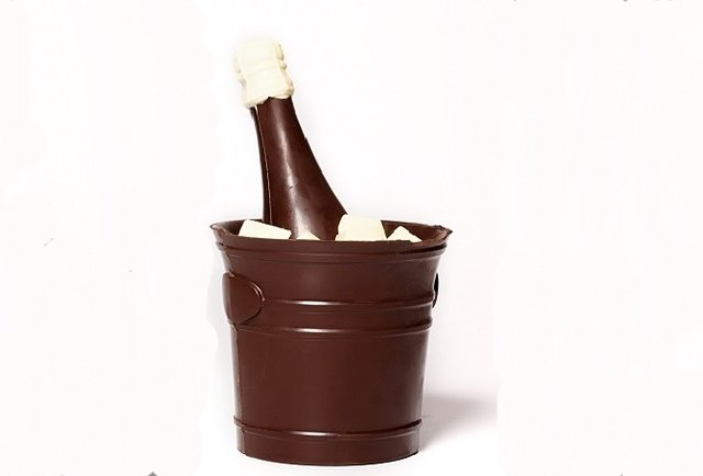 Li-Lac Chocolates Champagne Bucket