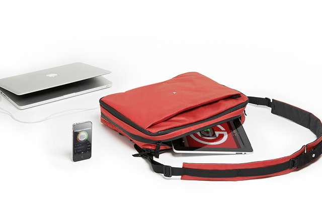 A carry-on that'll charge your gadgets